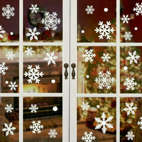 Details about  /Vijamiy 108 Snowflakes Window Picture for Winter and Christmas Fensterdeko SE show original title