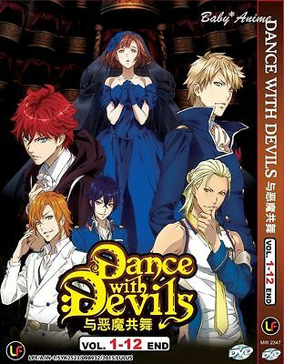 DVD Dance With Devils Complete Series Vol 1-12 End English Subtitle Japan Anime
