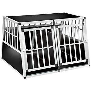 Xxl Cage Box Caisse De Transport Alu Trapézoïdal Voiture Cloison Séparation