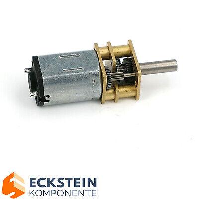 V-TEC 6V Micro 10x12mm DC Motor Getriebe Motor Stirnradgetriebe 168 rpm