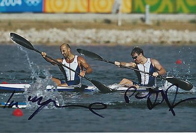 Special Section Ian Wynne And Paul Darby Dowman Hand Signed Olympics 12x8 Photo. Other Olympic Memorabilia Olympic Memorabilia