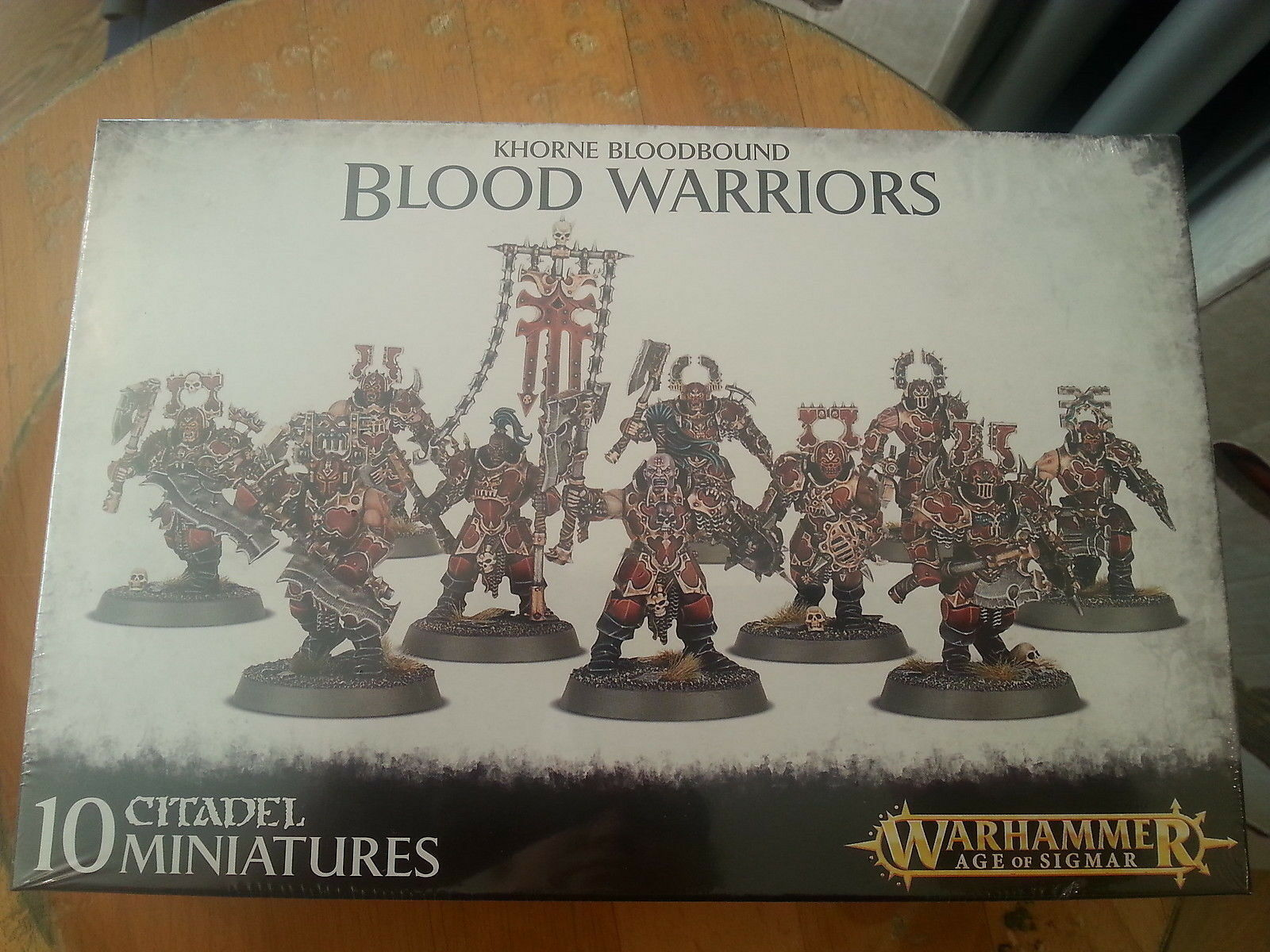 WARHAMMER AGE OF SIGMAR KHORNE BLOODBOUND BLOOD WARRIORS - NEW & SEALED