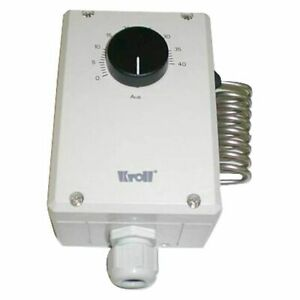 Room Thermostat Kroll Rti Ext. , 10m Cable And Plug