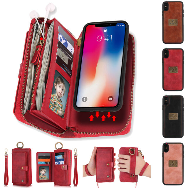 9 card detachable wallet case iphone 7 plus