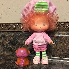 Vintage Strawberry Shortcake Dolls ~ RASPBERRY TART & RHUBARB ~ Berry Sweet ~