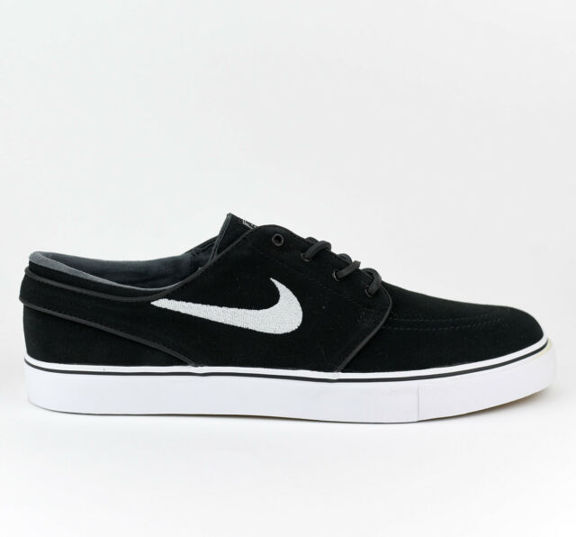 info for 9e906 b6ded Nike Zoom Stefan Janoski OG SB Men Skate Shoes New Black White Gum  833603-012