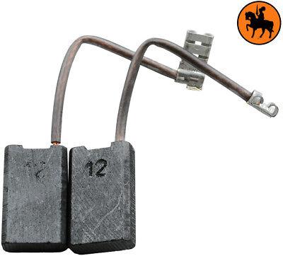 NUOVO Spazzole di Carbone AEG WSA1900 macinino 6.3x12.5x20mm