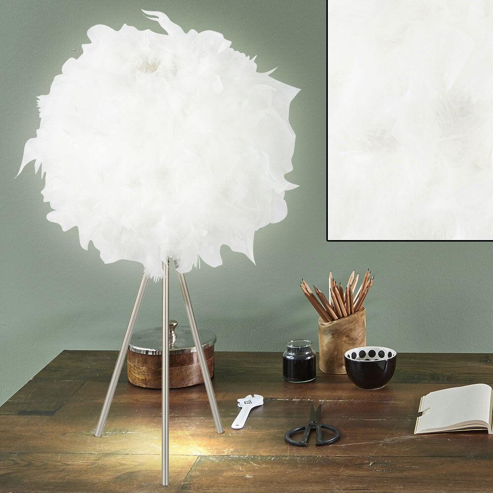 Spring ball 3-legged table lumière salon éclairage éclairage éclairage chambre lampe latérale neuf 5be05a