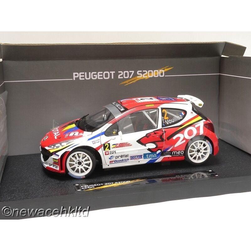 Peugeot 207 s2000   2 gewinner rali vinho da madeira 2008 sonne star modelle 1   18.