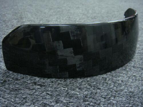 SALE:12K Carbon fiber panel for ARAI GP-6 series auto helmet shield was usd$48