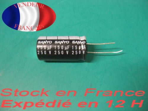 150uF 250V kondensator Kondensator 105 °C marke//brand sanyo