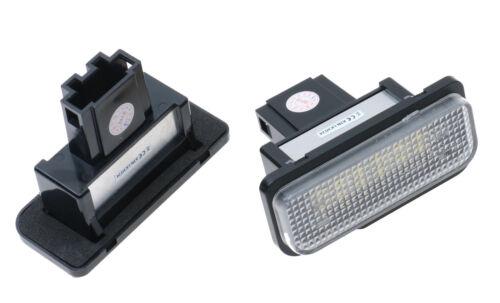 LED BIANCO TARGA MERCEDES BENZ w211 LIMOUSINE T-Modello w209 r171 can-Busa 587