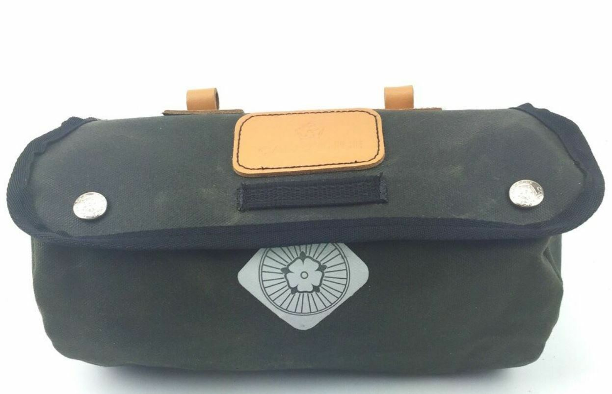 NEW Carradice Zipped Roll Saddlebag  - great for bike tools, tubes & waterproofs  manufacturers direct supply