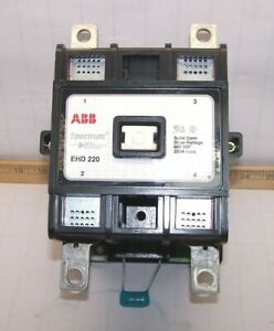 Details about ABB SPECTRUM SOLID STATE DRIVE CONTACTOR 600 VDC 120 on