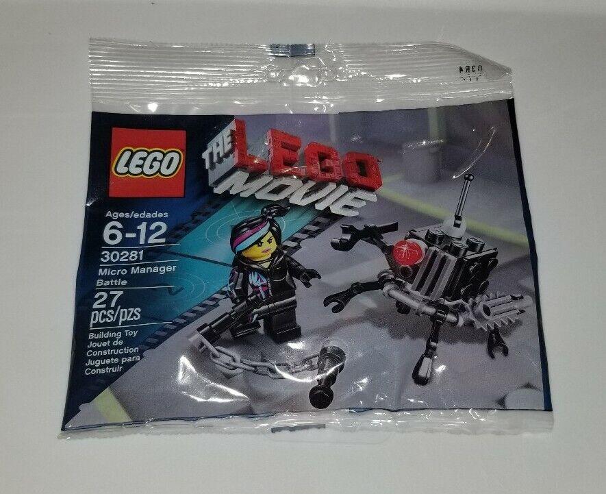 New Sealed Lego Polybag Lego Movie Micro Manager Battle 30281 Lego