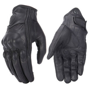Retro-Real-Leather-Motorcycle-Gloves-Moto-Waterproof-Gloves-Motocross-Glove-NT