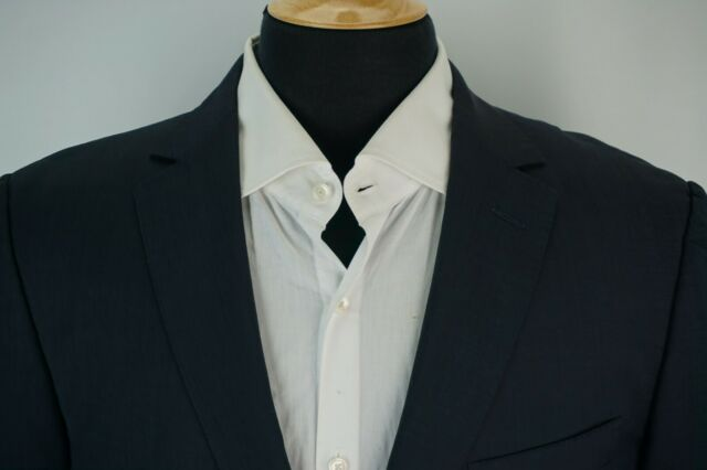 Ermenegildo Zegna Z Zegna City Blue Wool Sport Coat Jacket Sz 40R