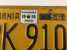 High Quality State Seal 1965 California Registration Year Sticker 3M Material