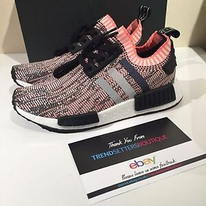ADIDAS NMD R1 PK W SALMON PINK GLITCH US UK 3 4 5 6 7 8 9 BB2361 ... 7a04122271