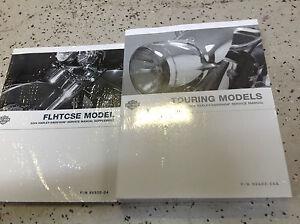 2004-Harley-Davidson-Touring-Servicio-Tienda-Reparar-Manual-W-Flhtcse-Suplemento