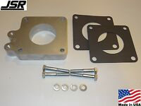86-93 Mustang Gt Or Lx 5.0 Throttle Body Egr Spacer Delete Plate Kit 1in X 60mm