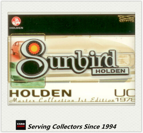 TRADING CARDS BADGE CARD B14:UC I HOLDEN MASTER SERIES