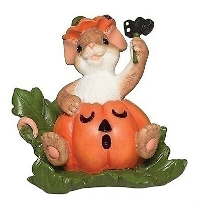 Charming Tails Mouse with Pumpkin You/'re A Boo-tiful Surprise Halloween 132109