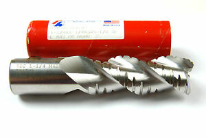 1-1/4 X 1-1/4 X 3 X 5-1/2 M42 MOD FORM RIGHT HAND ROUGHING END MILL (E-2-13-5-2)