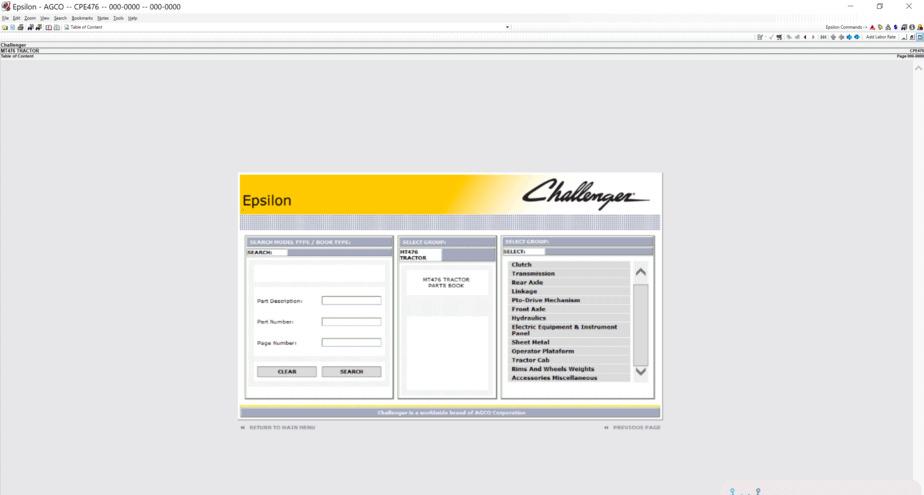 Challenger AG Europe Parts Catalog & Workshop Service Manuals [02.2021] DIGITAL