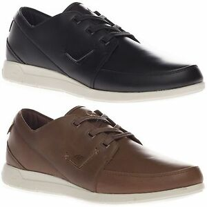 Boxfresh-Men-039-s-Keel-Katashi-Leather-Low-Top-Casual-Black-Brown-Trainers-Shoes
