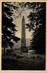 Dreisesselberg-Bayern-Ansichtskarte-1910-Stifter-Denkmal-am-Bloeckensteinsee