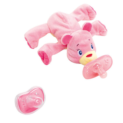 Bright Starts Cozy Coos Deluxe Pink
