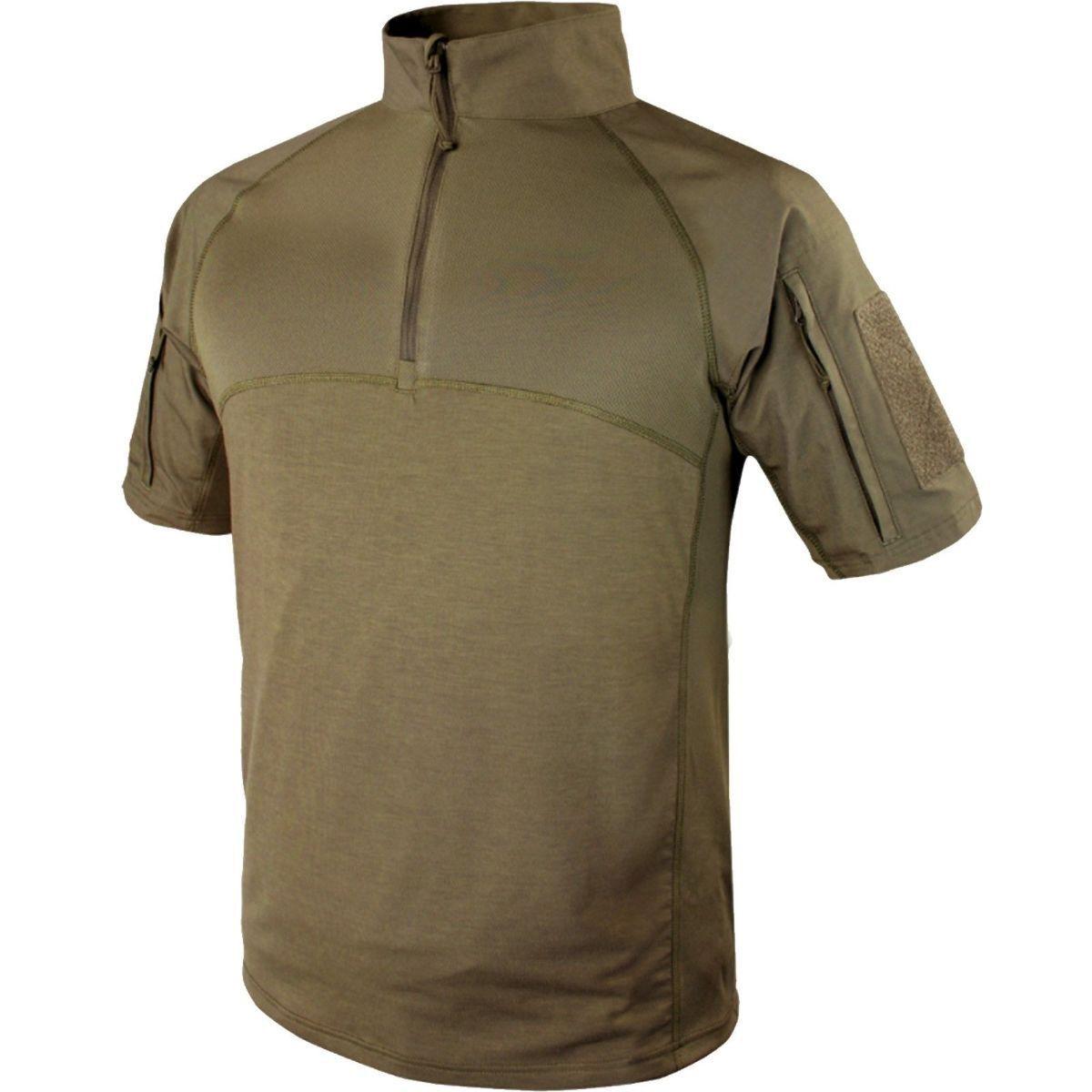 Condor Short Sleeve Combat Shirt - Tan - Small -  New - 101144-003-S  fashionable