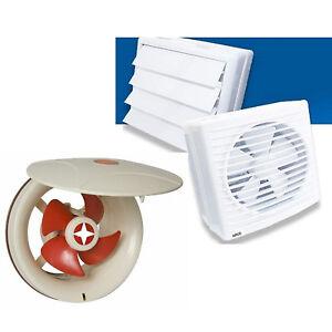 Wandluefter-Badluefter-Fensterventilator-verschlussklappe-Luefter-Ventilator