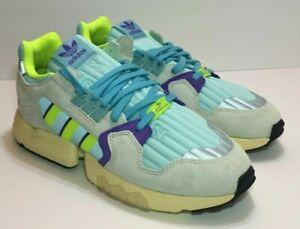 Enfatizar compromiso Pronombre  Mens Adidas Originals ZX Torsion Shoes Aqua 80s Retro EF4343 Sz 8 | eBay