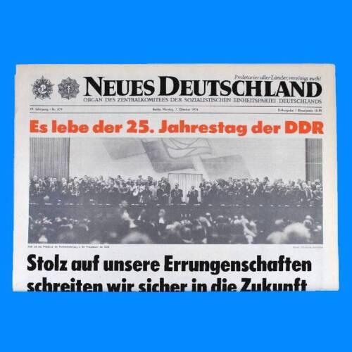 SED 42 40 41 43 DDR Neues Deutschland Dezember 1975 Geburtstag Hochzeit 39