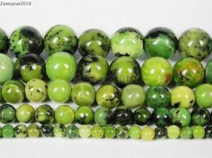 Natural-Australian-Chrysoprase-Gemstone-Round-Beads-16-039-039-4mm-6mm-8mm-10m-12mm
