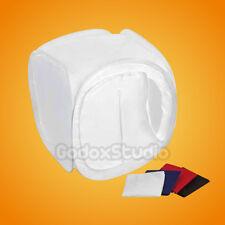 "32""x32"" 80x80cm Photo Studio Soft Box Cube Light Tent w/ 4X Backdrop"