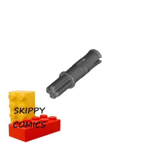 6015356-11214 LOT X2 Lego Pin Long Friction Ridges Lengthwise GRIS F//D GREY