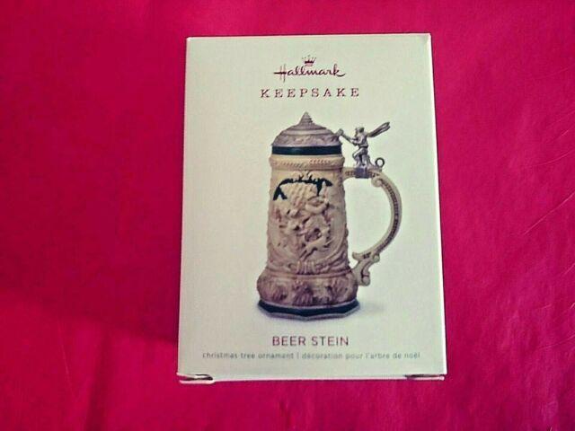 Hallmark 2018 Beer Stein Keepsake Ornament