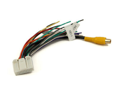 xtenzi 24 pin radio wire harness for pyle pldnv77u, pldn695 pldn63bt  pldn65bt | ebay  ebay