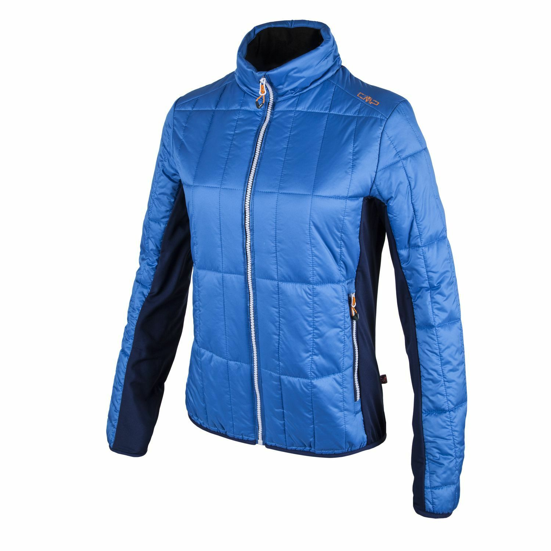 CMP Outdoorjacke Übergangsjacke blau Primaloft® atmungsaktiv