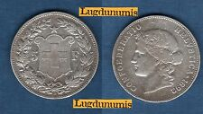 Suisse - 5 Francs 1892 Argent TB + Very Fine - Swiss Helvetia 190000 Exemplaires