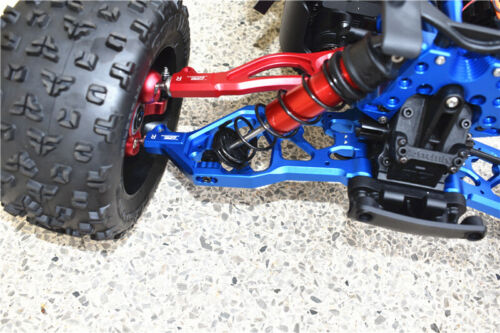 New RC 2pcs 1:5 Aluminum Alloy Front Lower Arms for ARRMA KRATON 8S