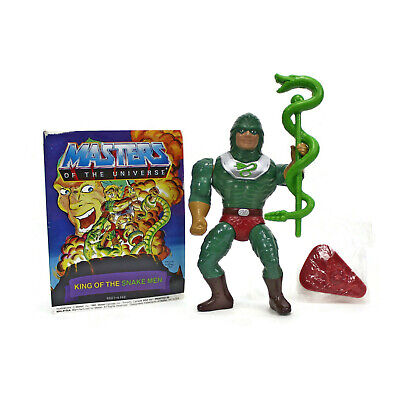 HE MAN Masters of the Universe KING HISS Staff 1985 Original Figure Accessory