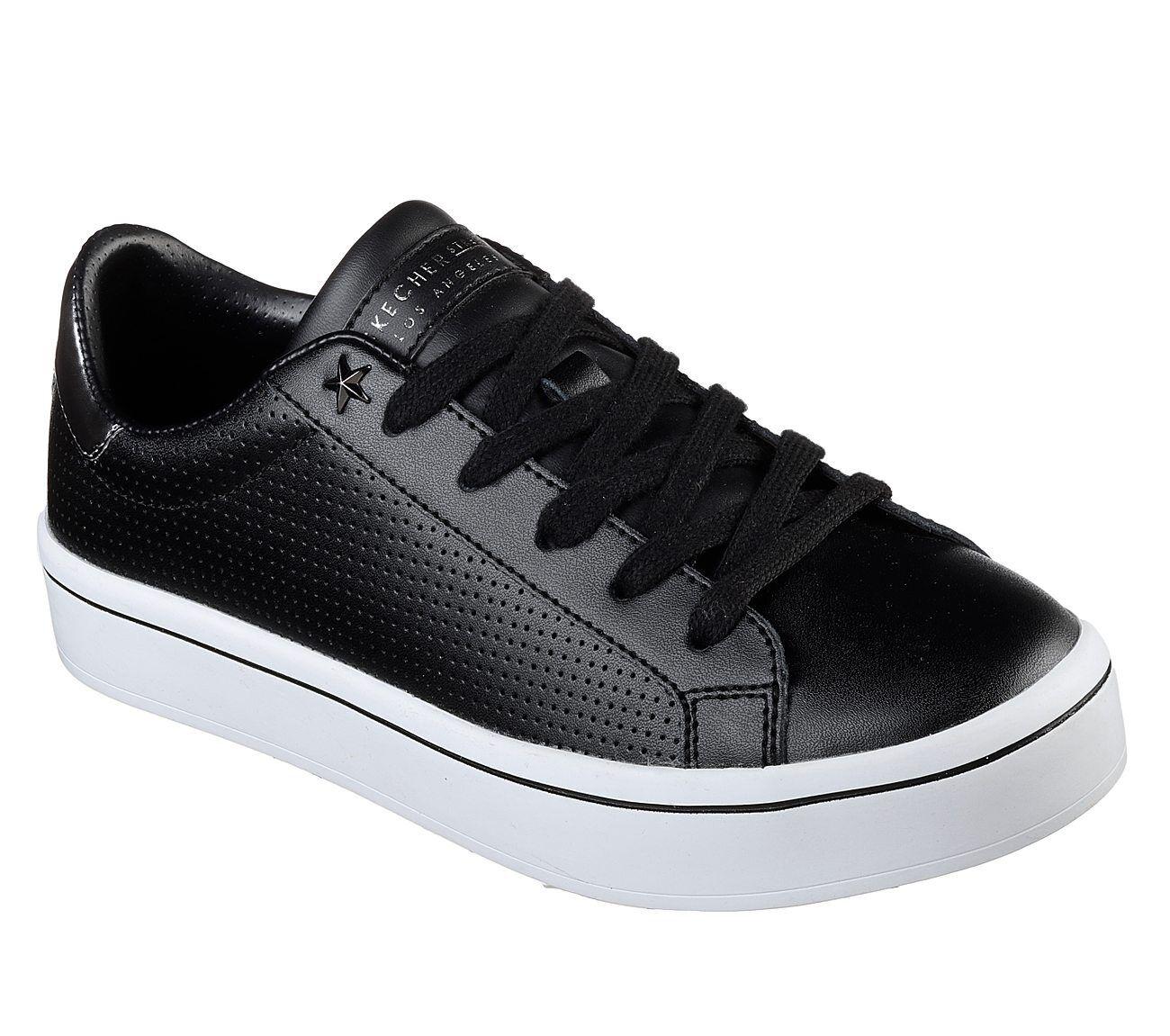 Skechers Women's Hi-Lites PERF-ECT 924/BLK Black Brand New In Box