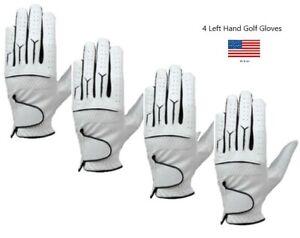 (4) Mens Cabretta Golf Gloves (Left Hand)