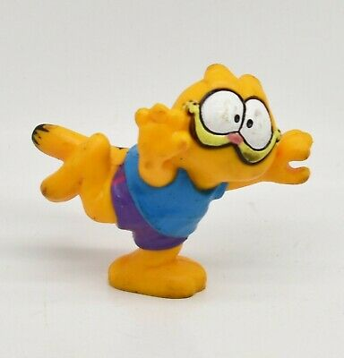 Garfield Running Loose 2 Pvc Figure United Features Syndicate 1978 81 Ebay