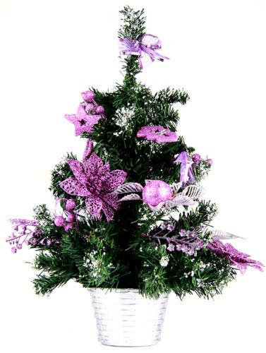 Sapin de Noël artificiel sapin arbre de Noël dekobaum blanc 40 CM