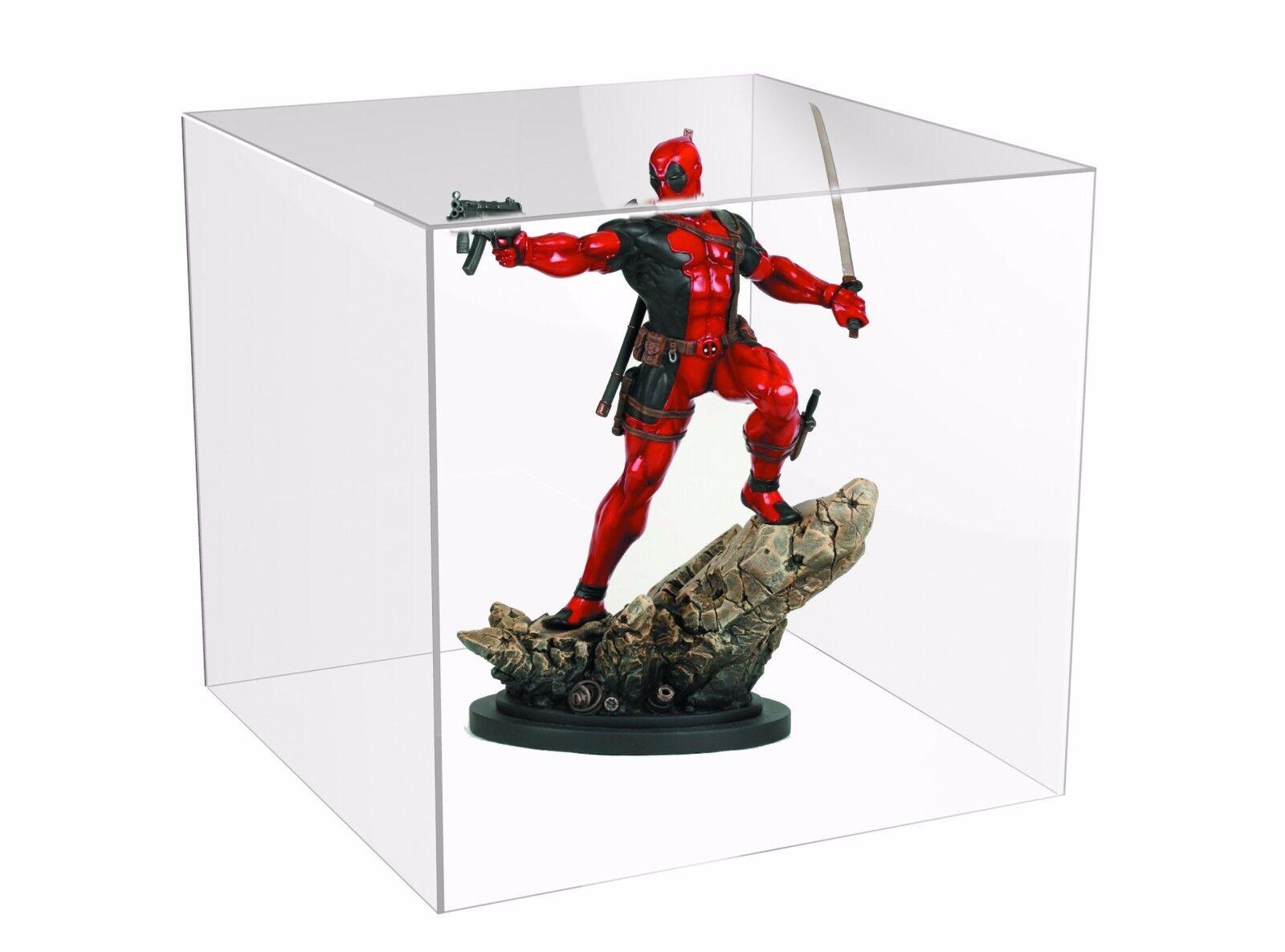 Teca - vetrinetta per action figure - modellini in plexiglass cm. 34x34XH.29